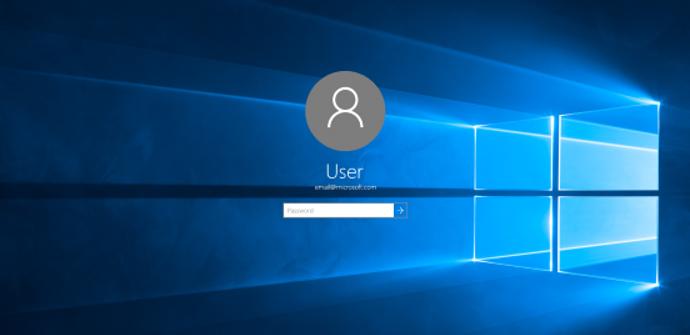 inicio de sesion en Windows 10