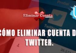 Eliminar tu cuenta de Twitter en pocos pasos
