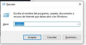 Herramienta ejecutar de Windows