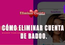 Eliminar cuenta de Badoo - eliminarcuenta.online