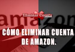Eliminar cuenta de Amazon
