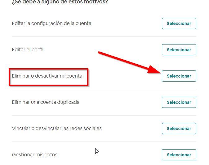 eliminar-cuenta airbnb definitivamente paso 3