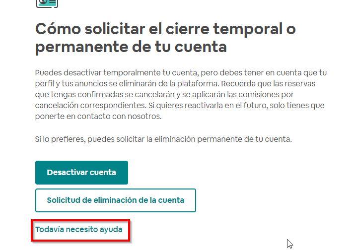 eliminar-cuenta airbnb definitivamente paso 4