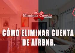 Eliminar cuenta de Airbnb