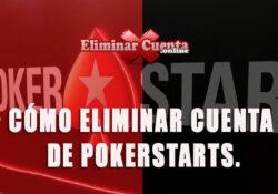 Eliminar cuenta de pokerstarts